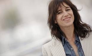 L'actrice Charlotte Gainsbourg