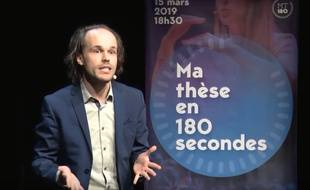 Tom Mébarki, étudiant en musicologie de l'université d'Aix-Marseille Provence Méditerranée et lauréat du concours 2019