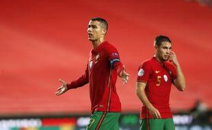Cristiano Ronaldo toujours en échec face aux Bleus