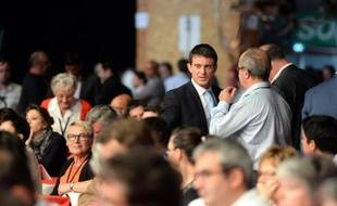 Manuel Valls au congrès du PS le 7 juin 2015 à Poitiers