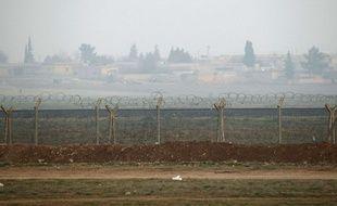 Poste frontière d'Akçakale, entre la Syrie et la Turquie, le 28 janvier 2015.