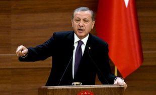 Le président turc Recep Tayyip Erdogan, le 4 novembre 2015, à Ankara