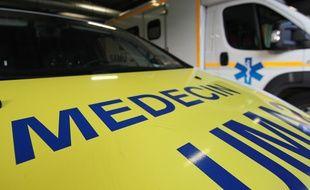 Illustration d'un véhicule d'un médecin du Samu, ici à Rennes.
