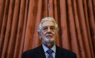 Placido Domingo à Madrid le 10 juin 2021
