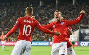 Barkley a été un des artisans principaux de la victoire anglaise avec un doublé.