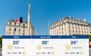 Météo Caen: Prévisions du mardi 15 septembre 2020