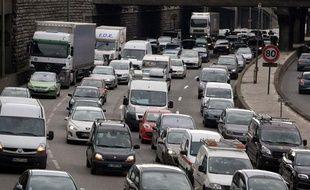 Embouteillages à Paris
