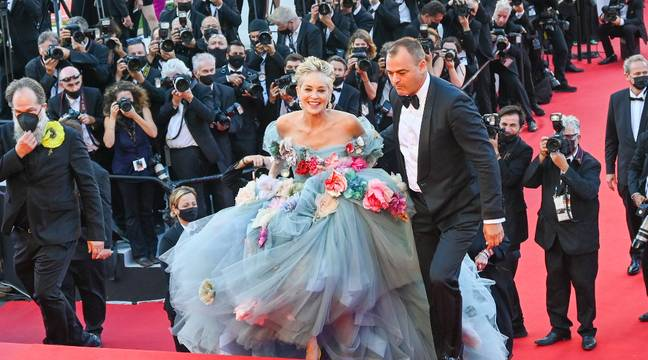 Sharon Stone dazzles the ascent of the steps in Cannes… Laeticia Hallyday offers herself a trip to Montmartroise…