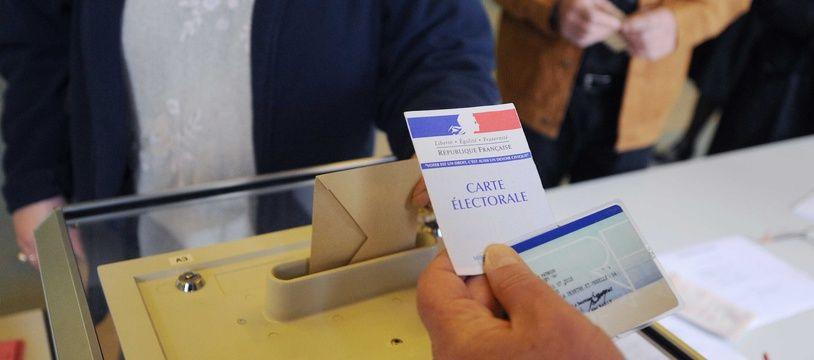 Une élection (illustration).