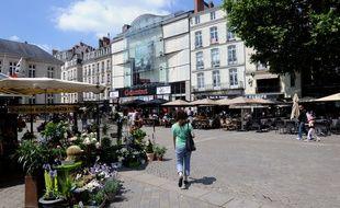 La place du Commerce à Nantes
