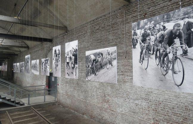 Paris-Roubaix est exposé à la gare Saint-Sauveur