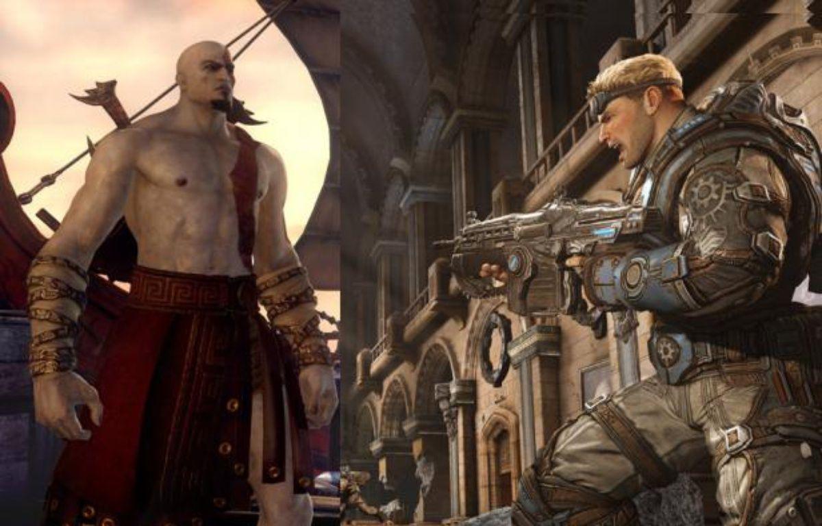 «God of War:Ascension» et «Gears of War:Judgement». – Sony / microsoft