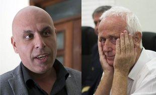 A gauche, Nicolas Pisapia, le 13 août 2015 à Saint Domingue. A droite : Alain Castany, le 9 mars 2015, à Saint Domingue.
