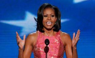 Michelle Obama, lors de son discours à la convention démocrate de Charlotte, le 4 septembre 2012.