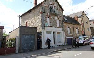 La maison de Maryvonne Thamin rue de Châtillon à Rennes, squattée légalement depuis 18 mois.