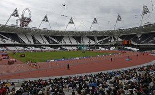 Le stade olympique de Londres, lors d'un test event, le 7 mai 2012.