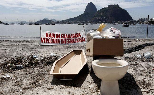 La baie de Guanabara accueillera les épreuves de voile.