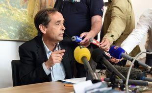 Le maire de Béziers, Robert Menard, le 5 mai 2015.