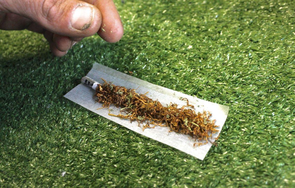 Un joint de cannabis – Photofusion/REX/REX/SIPA