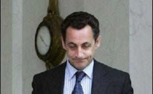 Nicolas Sarkozy à l'Elysée.