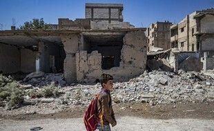 Un enfant en Syrie, illutration