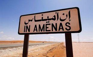 Photographie non datée, prise par le groupe norvégien Statoil, du site gazier d'In Amenas, dans l'est de l'Algérie.