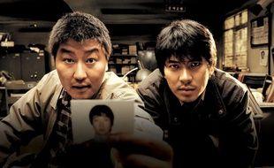 Song Kang-Ho et Kim Sang-Kyung dans «Memories of Murder».