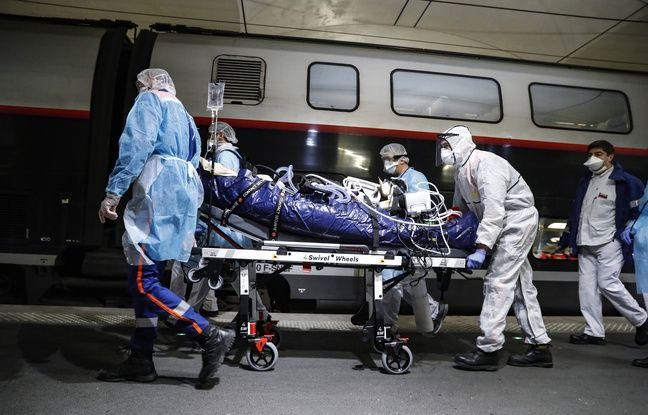 Coronavirus à Paris: 36 malades du Covid-19 transférés en train vers la Bretagne