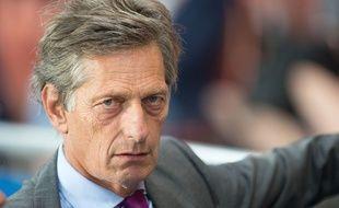 Nicolas De Tavernost, le président du directoire de M6 et patron des Girondins de Bordeaux, le 12 septembre 2015.