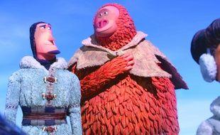Sir Lionel Frost (doublé par Thierry Lhermitte) et Monsieur Link (doublé par Eric Judor) dans «Monsieur Link» de Chris Butler