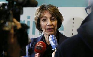 La ministre de la Santé Marisol Touraine  le 22 décembre 2015 à Paris