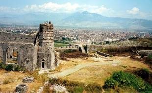 La ville de Shkodër au nord-ouest de l'Albanie.