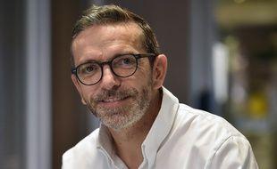 Sébastien Bras, le chef du Suquet, restaurant de Laguiole dans l'Aveyron.