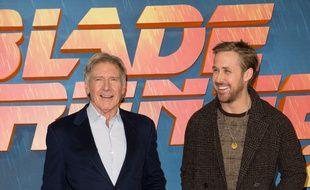 Les acteurs Harrison Ford et Ryan Gosling