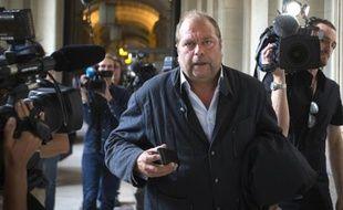 Me Dupond-Moretti, le 9 septembre 2012, au Palais de justice de Paris.