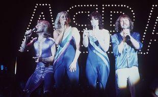 Le groupe ABBA dans les années 1970.
