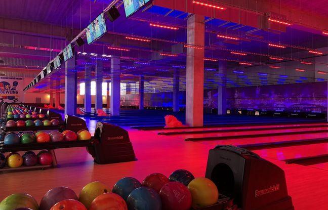 Le bowling des Lumières compte pas moins de 32 pistes de jeu.