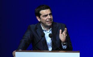 Le Premier ministre grec Alexis Tsipras, le 18 mai 2015.