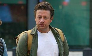 Le chef britannique Jamie Oliver
