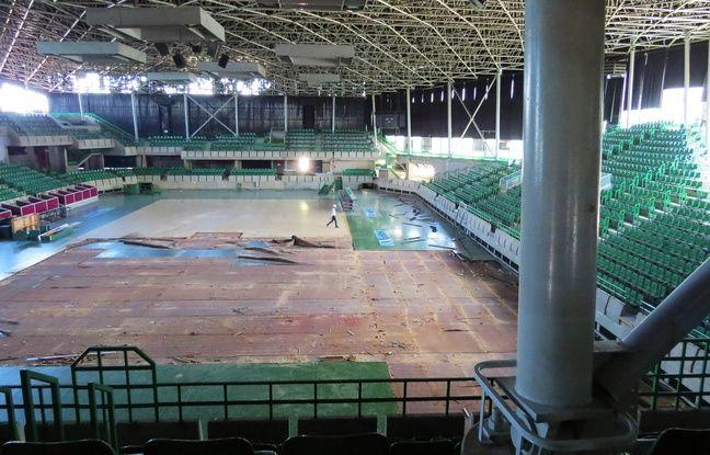 Les travaux ont débuté en juin 2016 au Palais des sports de Beaulieu.