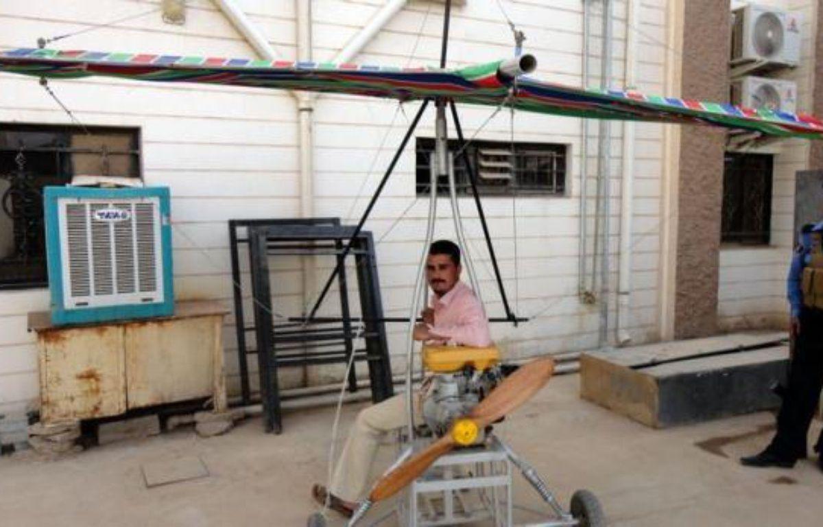 A vingt ans de distance, Wissam et Abbas ont appris à leurs dépens qu'il n'est pas bon d'inventer des engins volants et de les piloter: Sous Saddam Hussein ou sous le nouveau régime, ceci n'apporte que des ennuis. –  afp.com