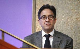 AquilinoMorelle est venu témoigner, jeudi23 mai, au procès duMédiator àNanterre (Hauts-de-Seine).