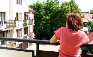 La plupart des immeubles sont dotés de balcons et non de terrasses.
