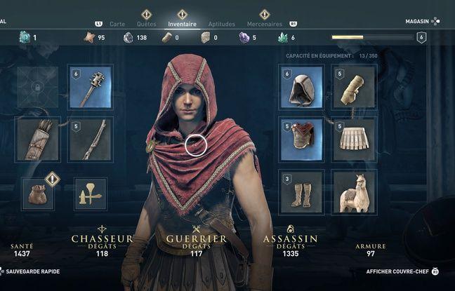 Optimisez l'équipement de votre personnage en cours de partie comme dans un RPG classique.