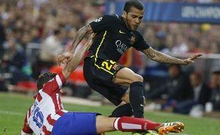 Le Brésilien de Barcelone DAniel Alves