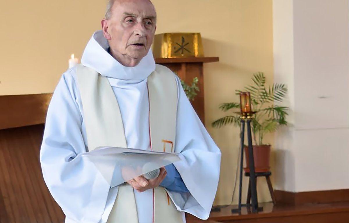 Le père Jacques Hamel. – PAROISSE SAINT-ETIENNE-DU-ROUVRAY / AFP