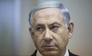 Le Premier ministre israélien Benjamin Netanyahu à Jérusalem le 15 février 2015