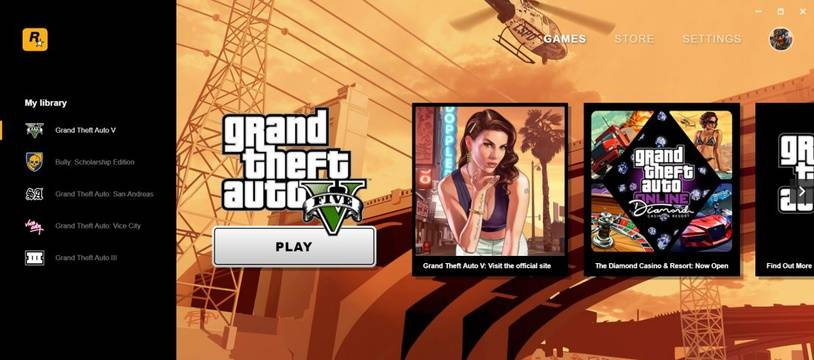 Rockstar (GTA) lance son propre launcher