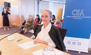 Delphine Ernotte lors de son audition devant le CSA le 21 juillet 2020