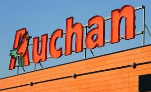 L'enseigne du groupe Auchan